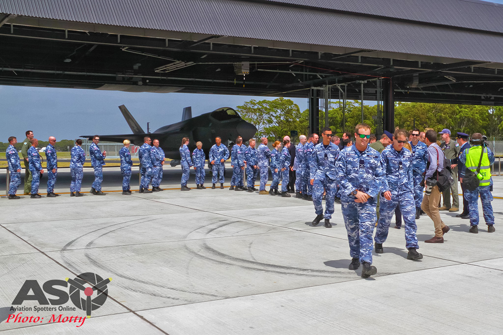 Mottys-First RAAF F-35 Arrivals at Williamtown-02696-ASO
