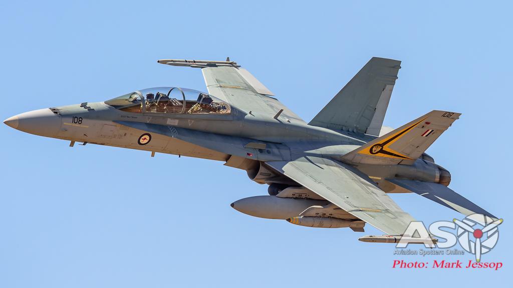F/A-18B Hornet A21-108 2OCU.