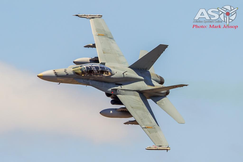 F/A-18B Hornet A21-115