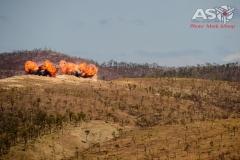 Mk-83 1000lb bombs on target