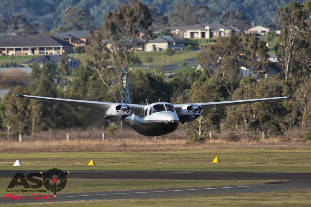 Mottys Aerocommander VH-CAX 0001 HVA 2015