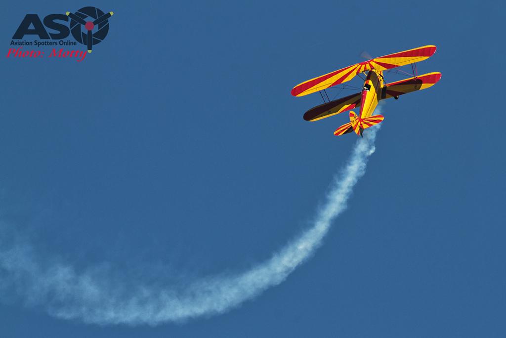 Mottys Hunter Valley Airshow 2015 Stampe VH-WEF 0008