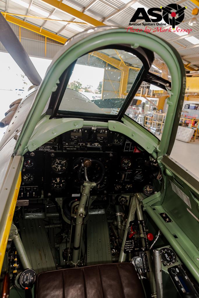 Hurricane cockpit V6748 VH-JFW