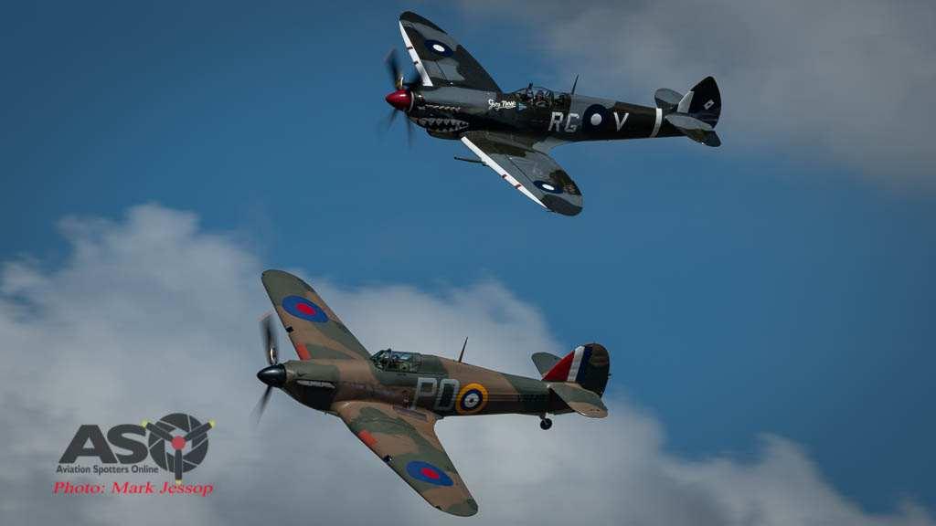 Hawker-Hurricane-VH-JFW-and-Temora-Spitfire-MK-VIII-VH-HET HVA-2021-Mark-Jessop-2021-5