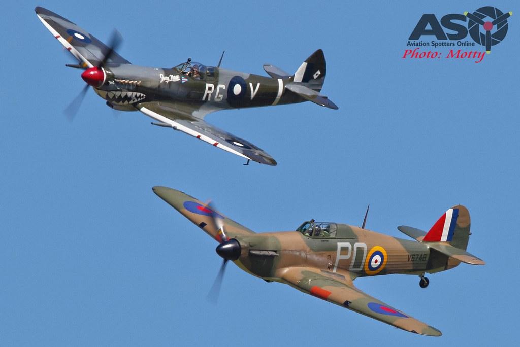 Mottys-HVA-2021-Hawker-Hurricane-VH-JFW-and-Temora-Spitfire-MK-VIII-VH-HET-13394-DTLR-1-001-ASO
