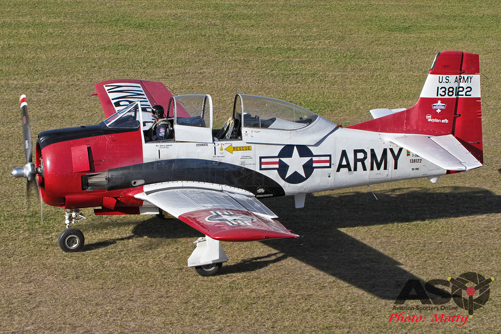 Mottys Luskintyre November 2016- 2594-T-28 Trojan VH-FNO-001-ASO