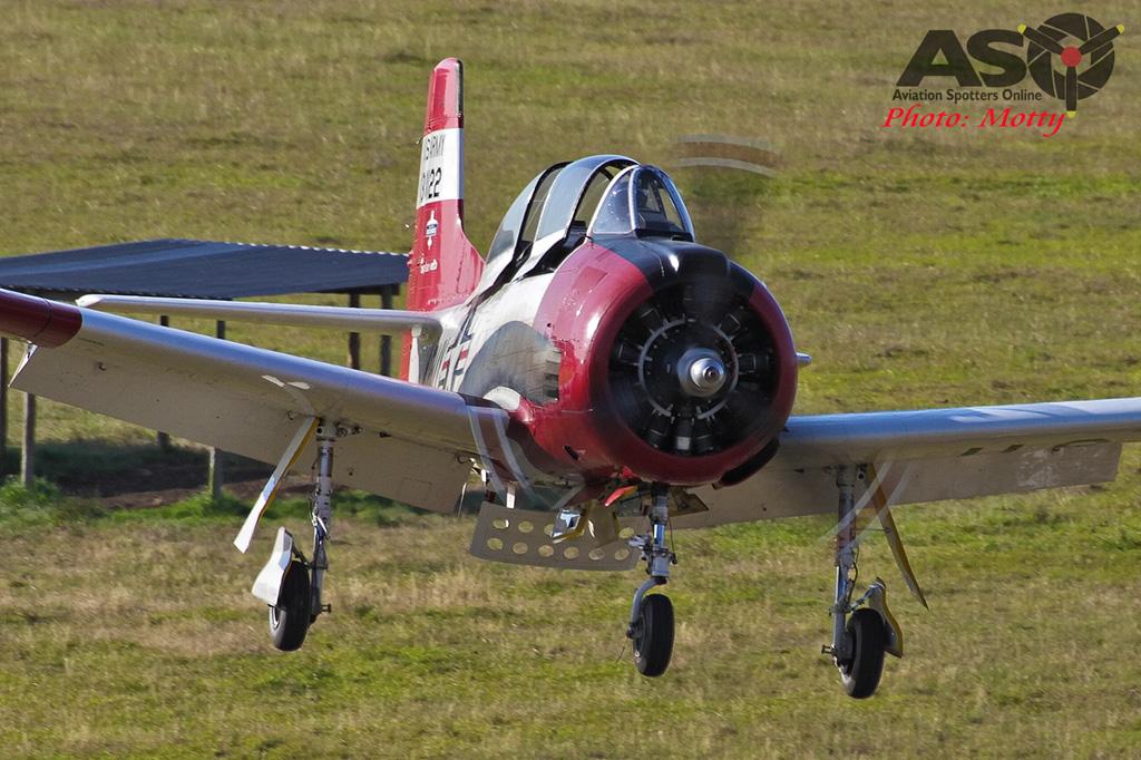 Mottys Luskintyre November 2016- 3644-T-28 Trojan VH-FNO-001-ASO