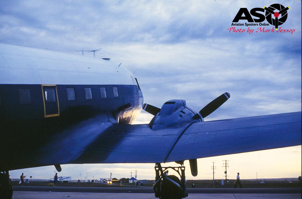 DC-3 on Sunset.