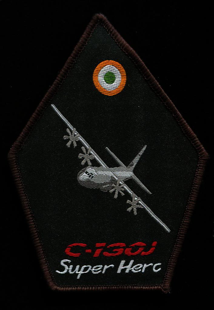 Indian Air Force Super Hercules patch