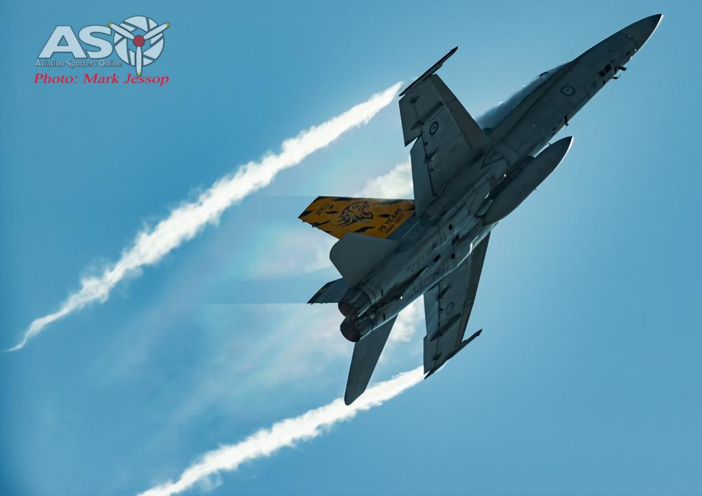RAAF F/A-18A Hornet A21-16 2OCU.