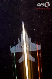 RAAF F/A-18F Super Hornet Camera: Nikon D800, ISO:6400, Shutter: 6.4 seconds 3.5f 58mm