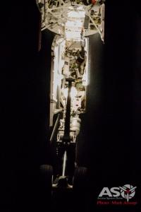 F/A-18F Super Hornet wheel bay
