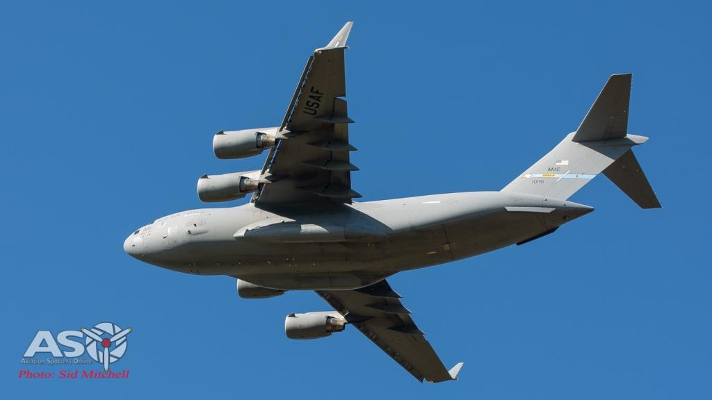 uUSAF C-17 A Globemaster III