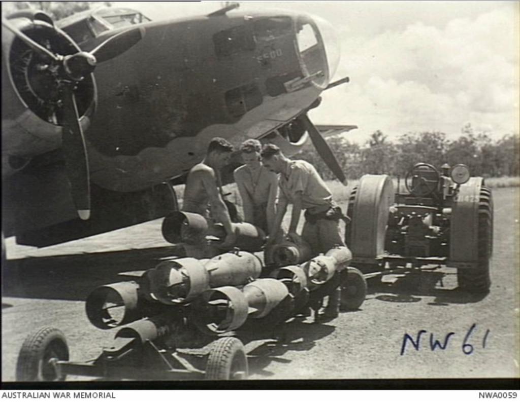 Arming a No 13 Sqn Hudson