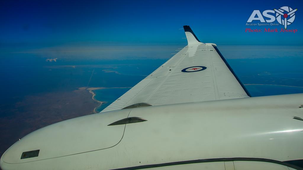 A32-426 King Air flight up