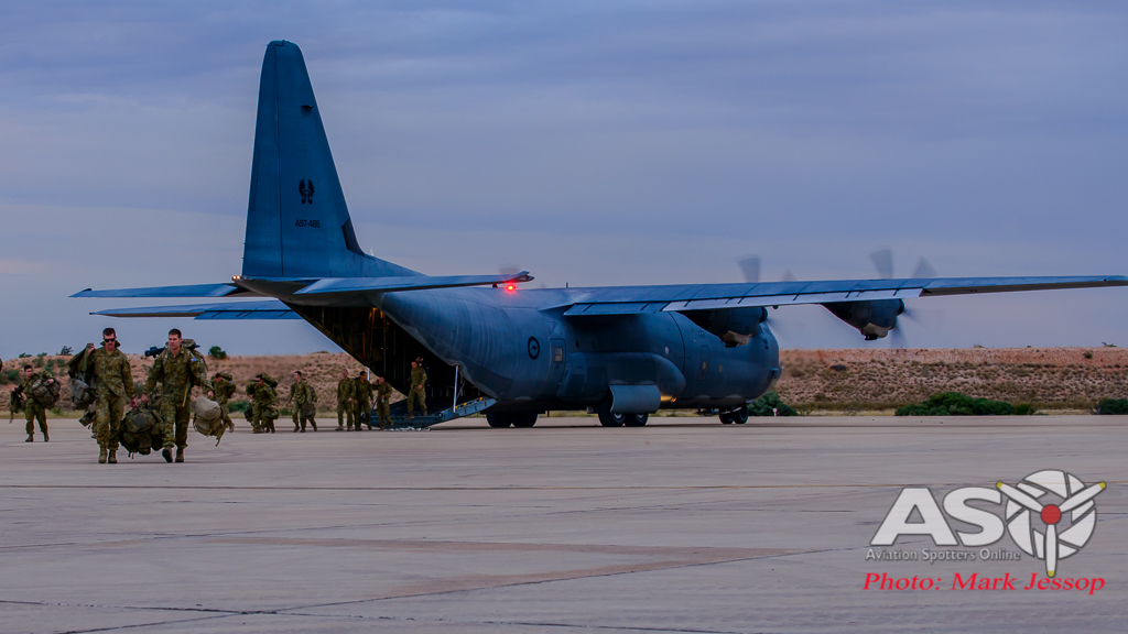 Exercise Northern Shield Sunday night Hercules-2