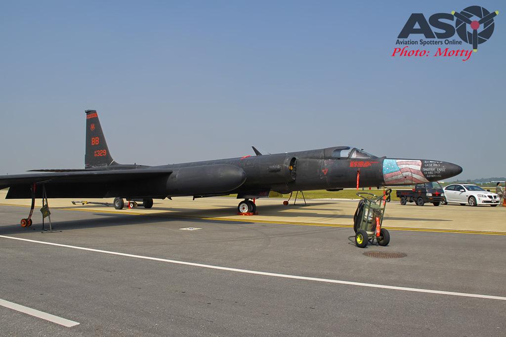 Mottys Osan Air Power Day 2016 USAF U-2S 68-329 0050-ASO