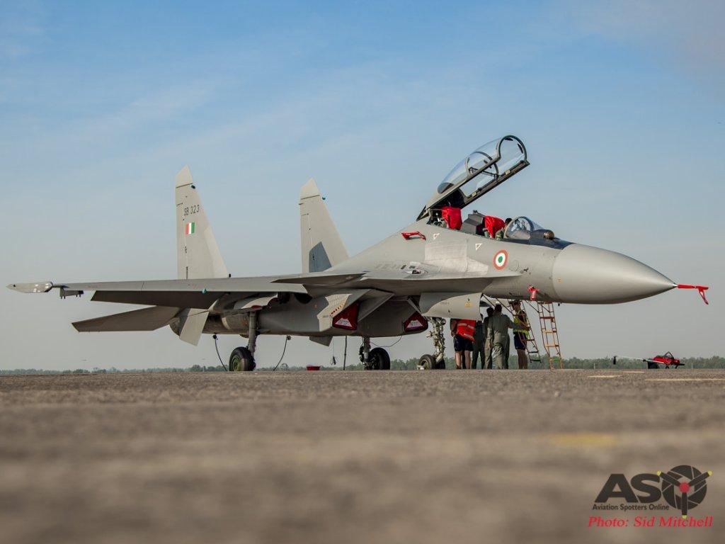 Su-30MKI on the BRA