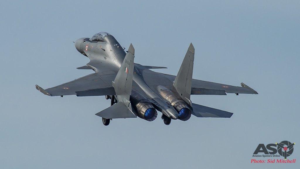 Su-30MKI off the deck