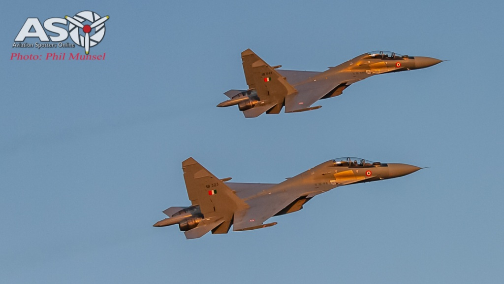 Sukhoi Su-30MKI pass Mindil Beach