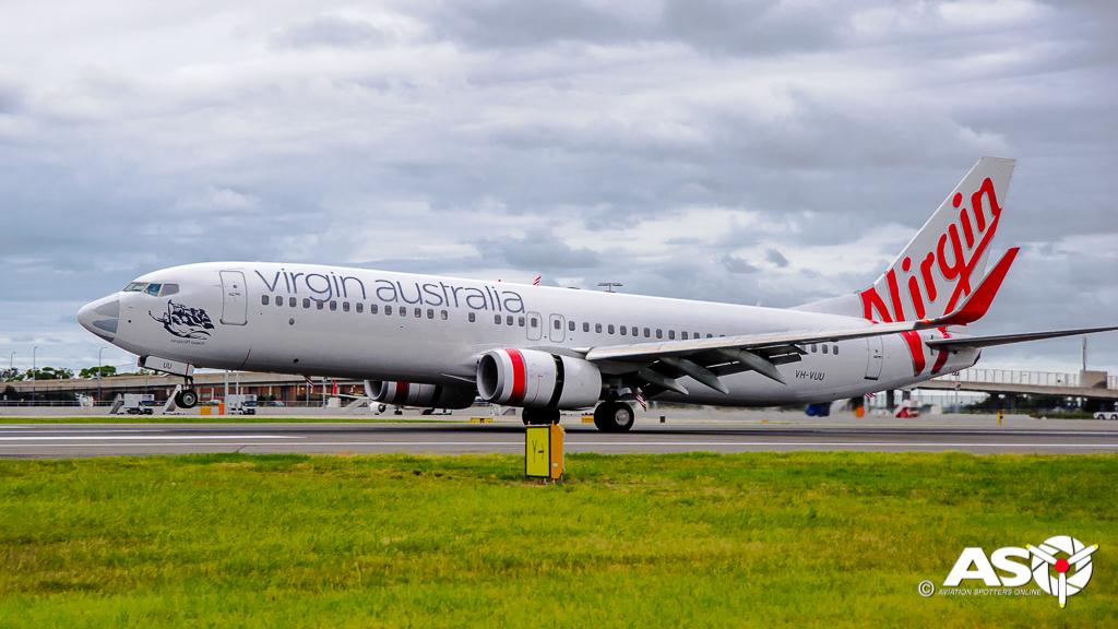 VH-VUU Boeing 737-800 Virgin