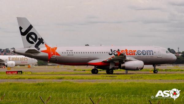 VH-VQJ Airbus A320 Jetstar