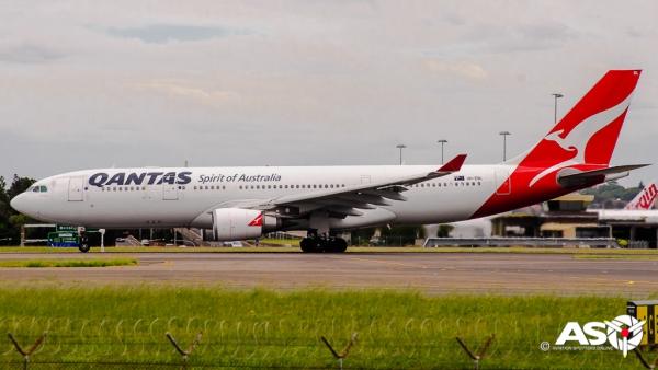 VH-EBL Airbus A330