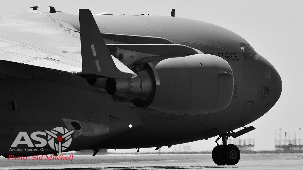 C-17 taxiing RAAF Darwin