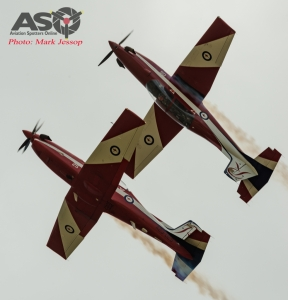R5 & R6 Mirror pass at RAAF Point Cook.
