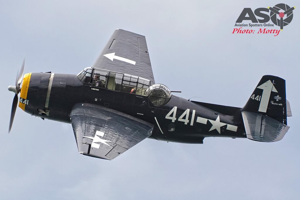 Mottys Rathmines 2016 Paul Bennet Airshows Avenger VH-MML 0030-ASO