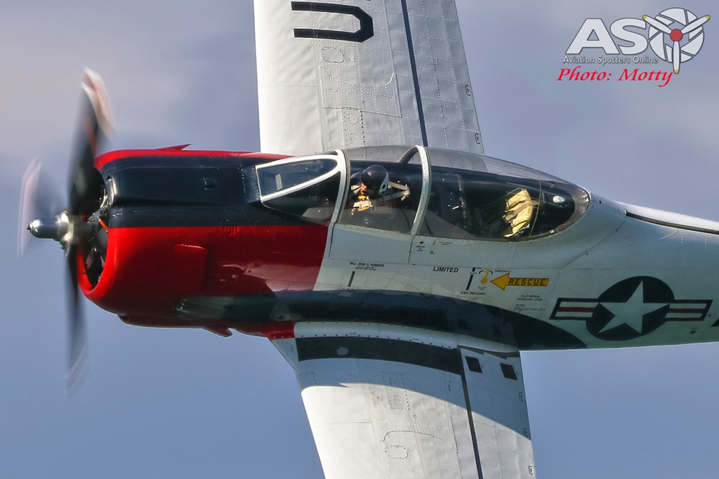 Mottys-Rathmines-Catalina-Festival-2019-Paul-Bennet-Airshows-T-28-Trojan-VH-FNO-03137-ASO