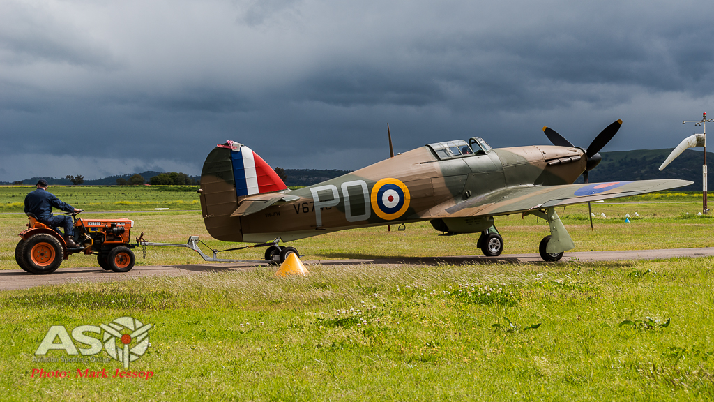 Towing the Hurricane back