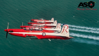 RAAF Roulettes Air To Air Townsville