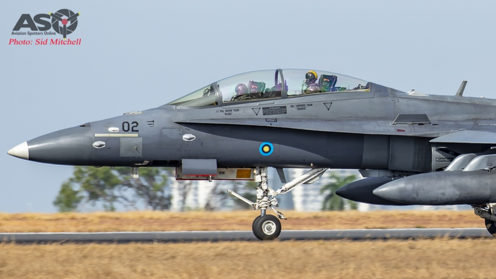 RTAF F/A-18D