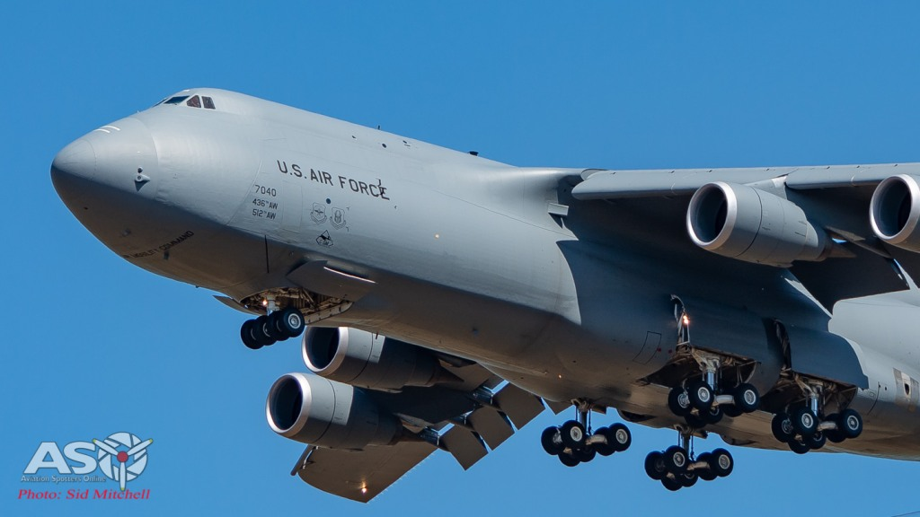 USAF C-5B Galaxy