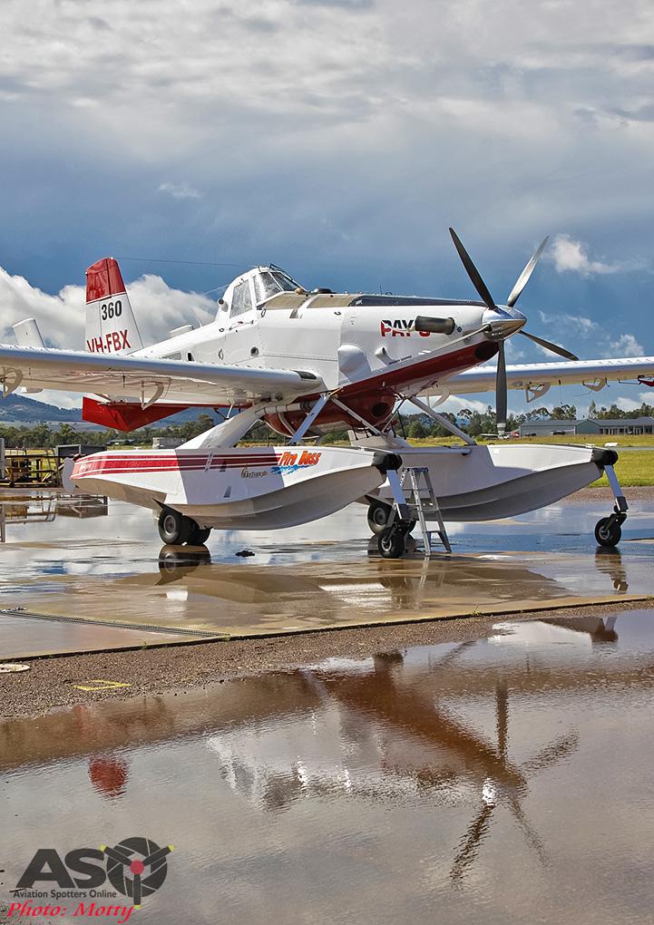 Mottys Flight of the Hurricane Scone 2 0079 Fireboss VH-FBX-001-ASO