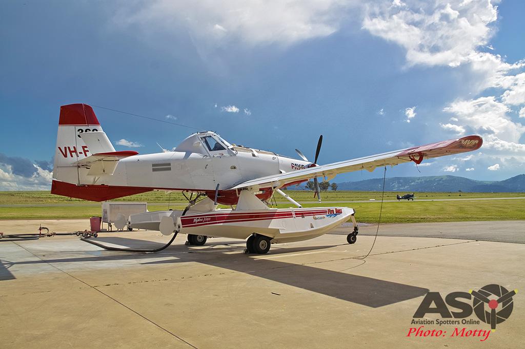 Mottys Flight of the Hurricane Scone 2 0342 Fireboss VH-FBX-001-ASO