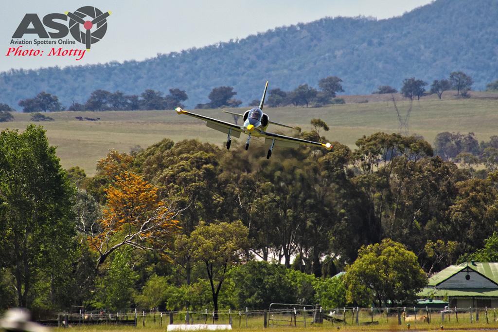 Mottys Flight of the Hurricane Scone 2 0784 L-39 Albatros VH-IOT-001-ASO