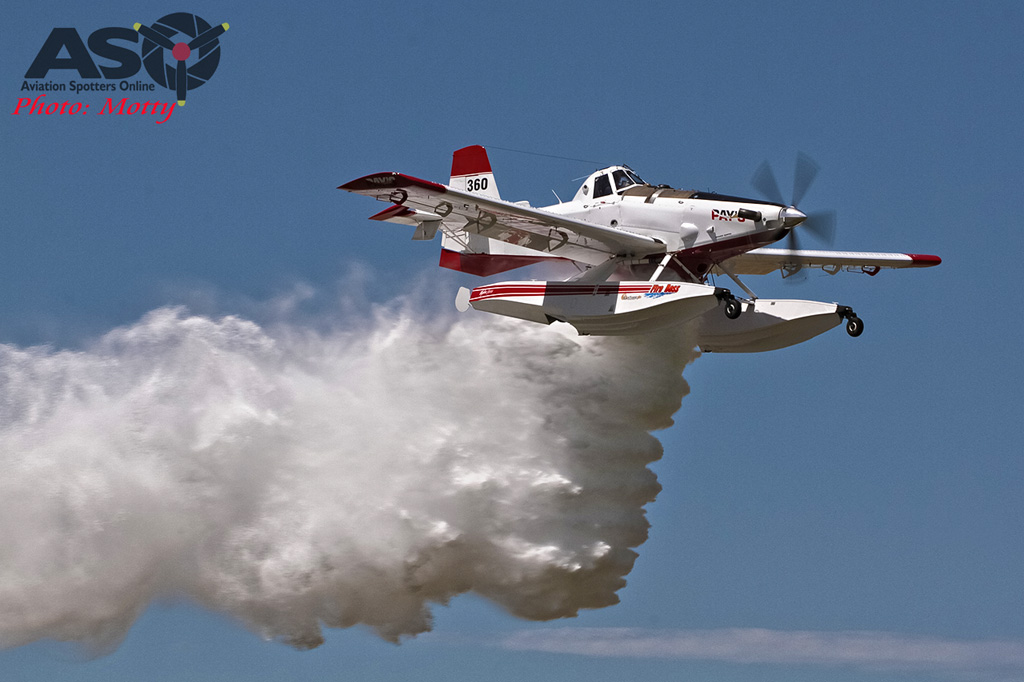 Mottys Flight of the Hurricane Scone 2 1612 Fireboss VH-FBX-001-ASO