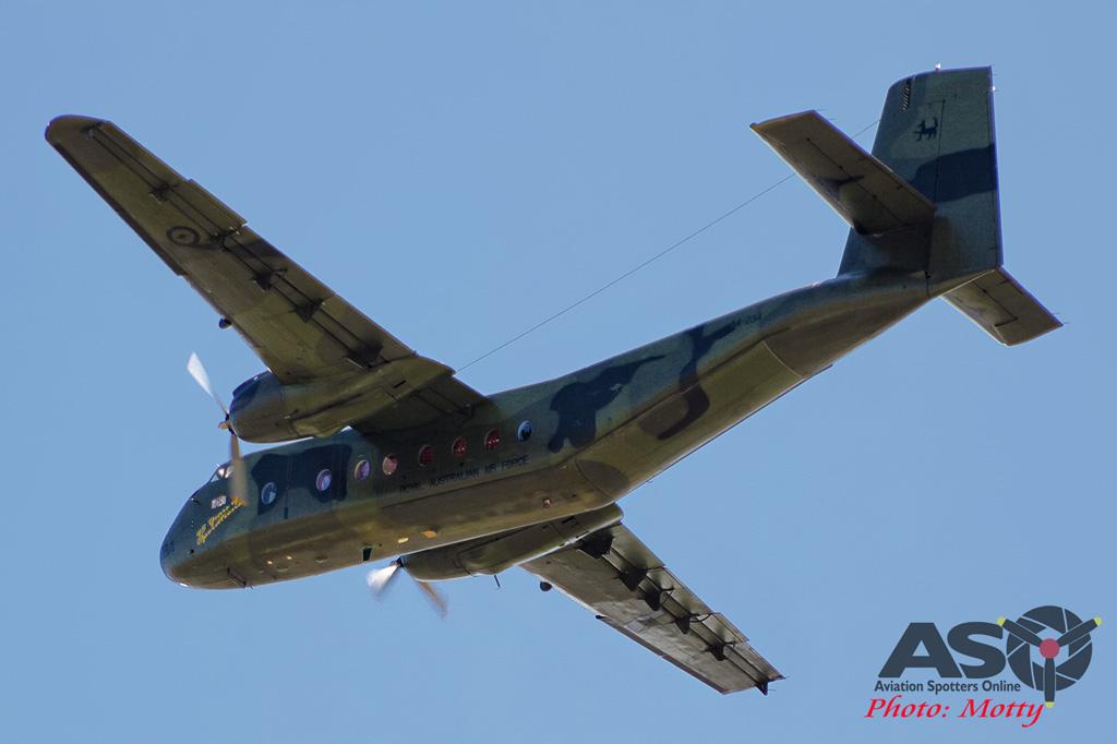 Mottys Flight of the Hurricane Scone 2 1690 DH Caribou VH-VBB-001-ASO