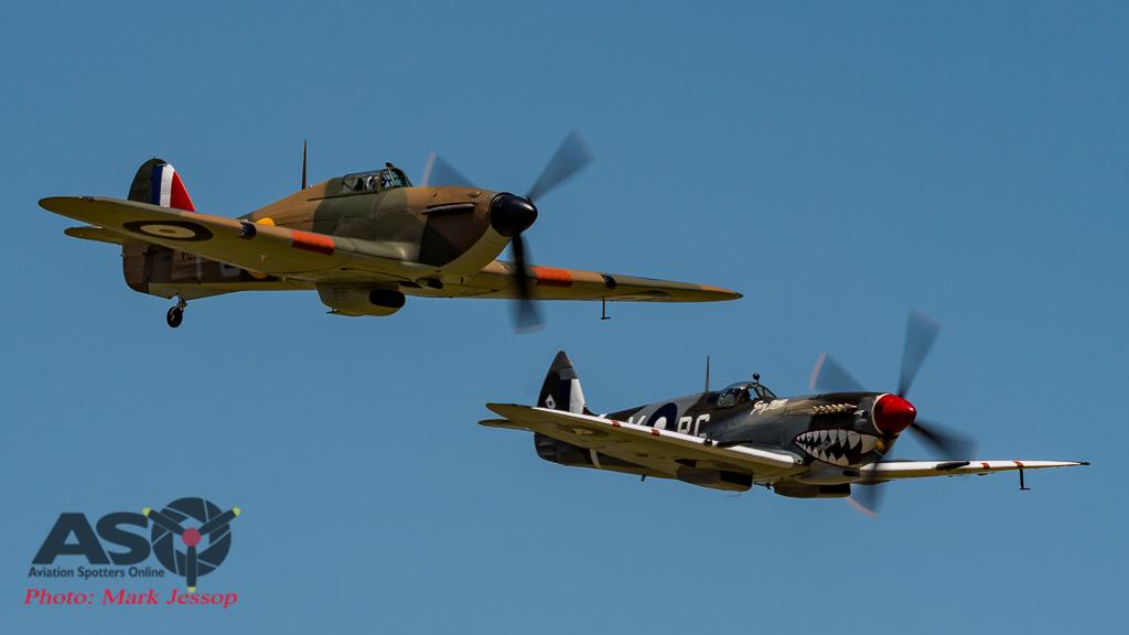 Hurricane & Spitfire MK.VIII