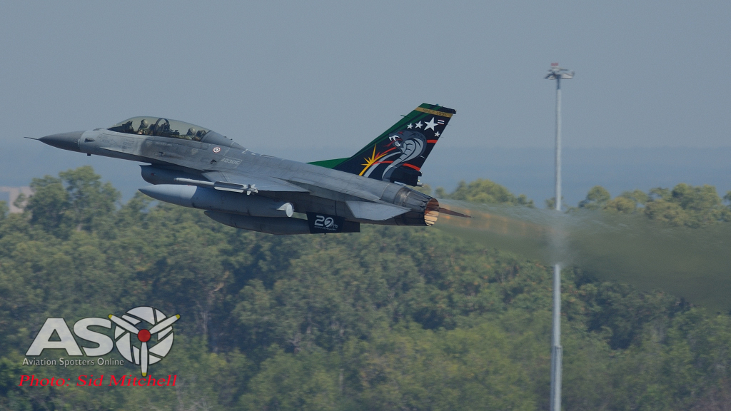 F-16A from 403 Sqn out of Takhli Air Base