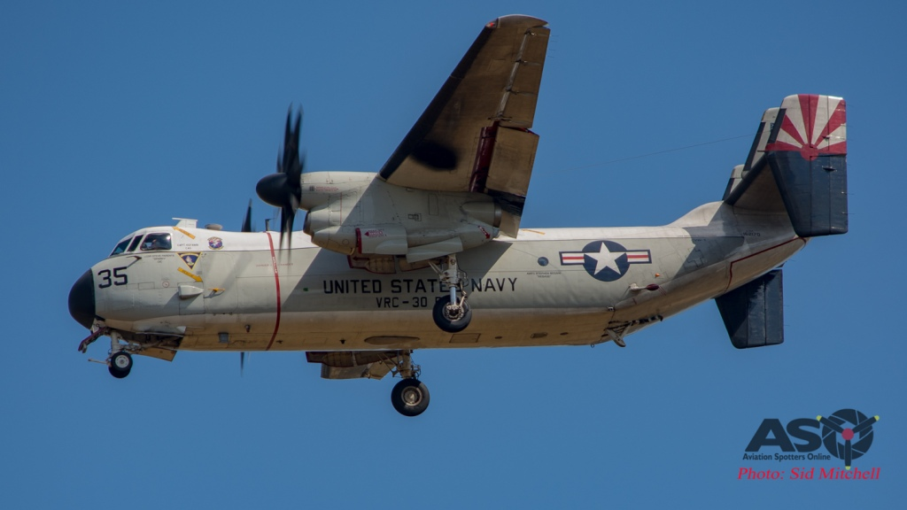 "C2 Greyhound COD VRC-30 Det 5 ""Providers"" NAS North Island."