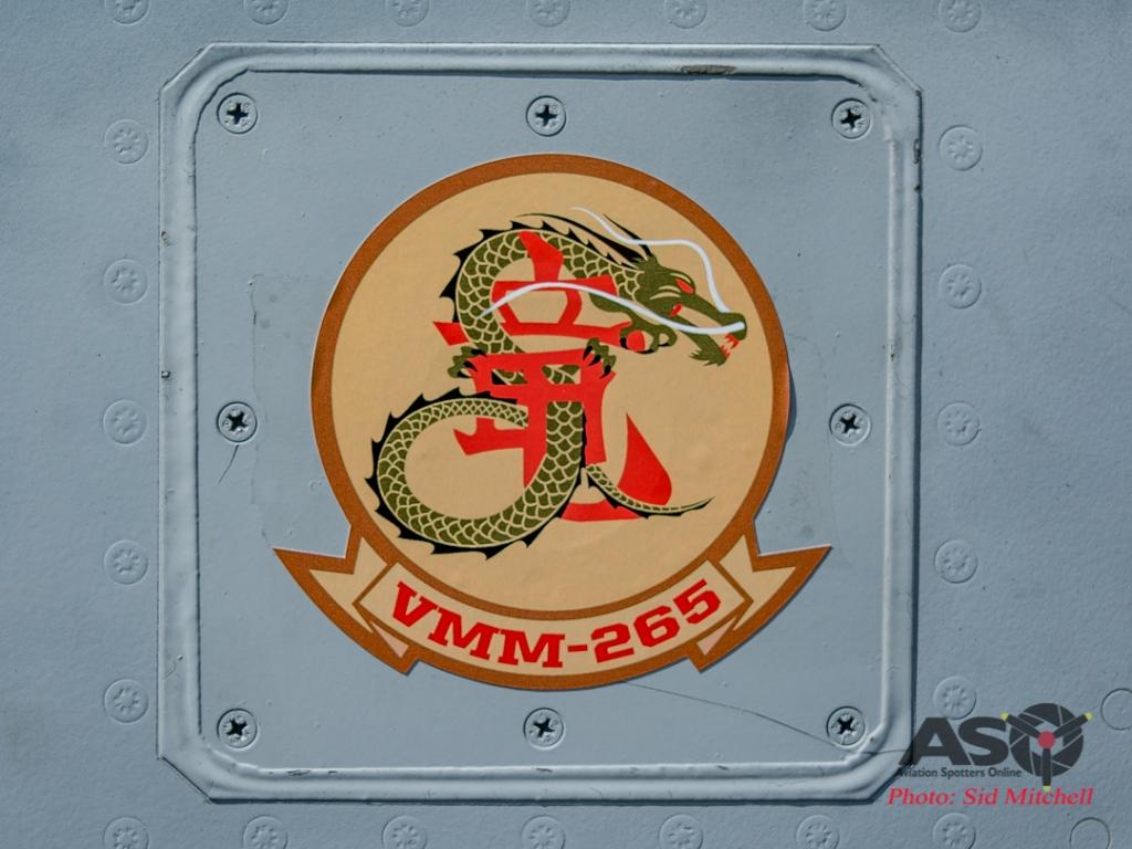 Crest of VMM-265 Dragons