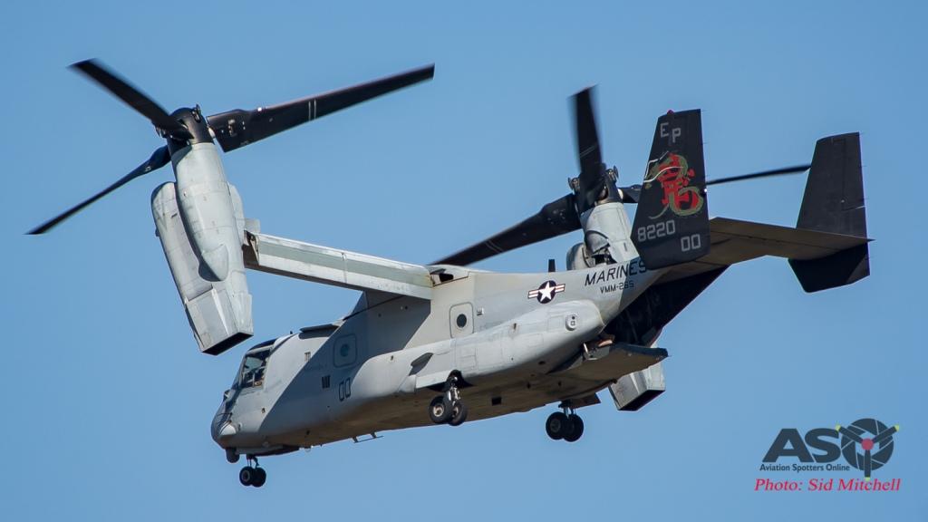 USMC MV-22B Osprey from VMM-265 Dragons