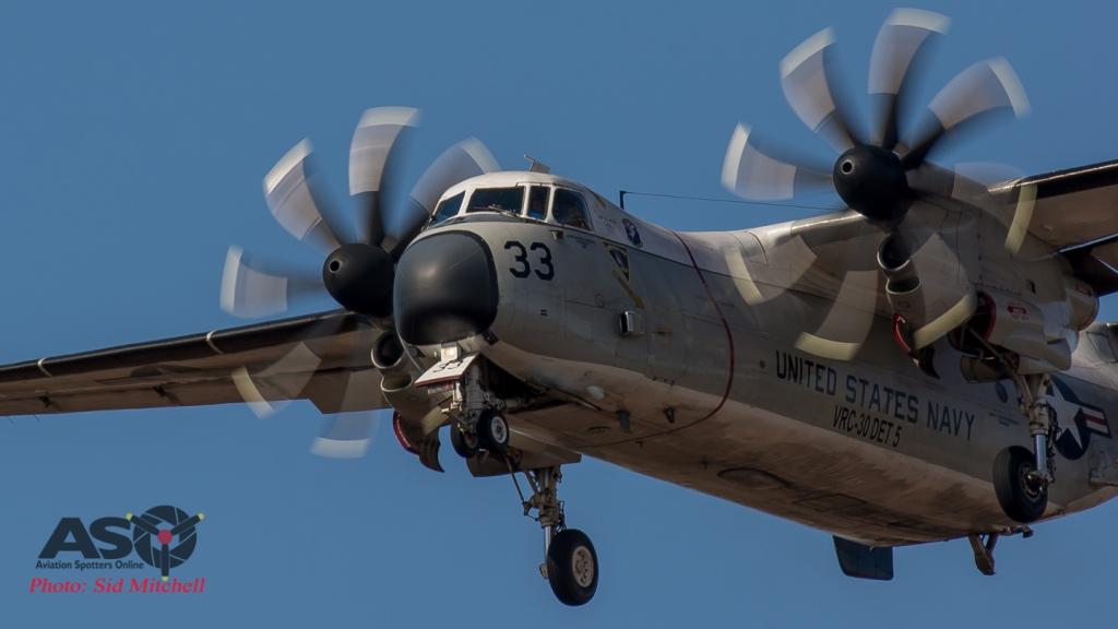 "C-2A Greyhound VRC-30 Det 5 ""Providers"" NAS North Island."