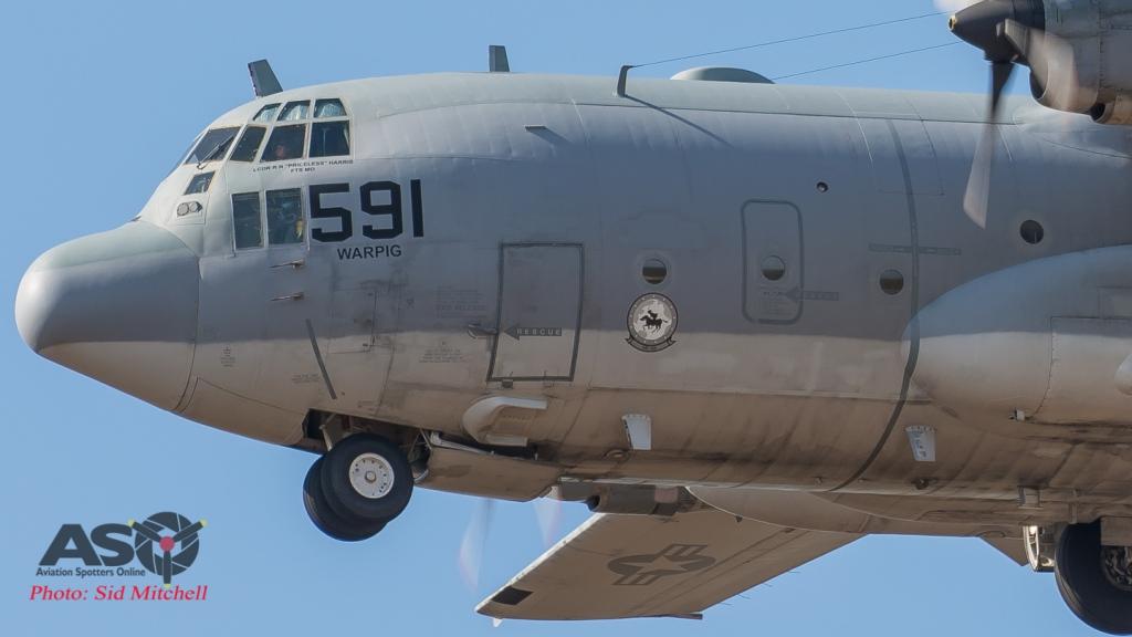"""USN """"Warpig"""" C-130 VR-55 'Horsemen'"""