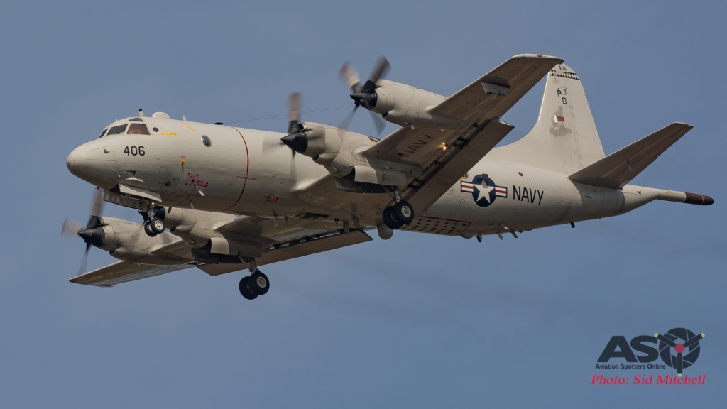 USN P-3C AIP Orion from VP-9, Kaneohe Marine Corps Base Hawaii.