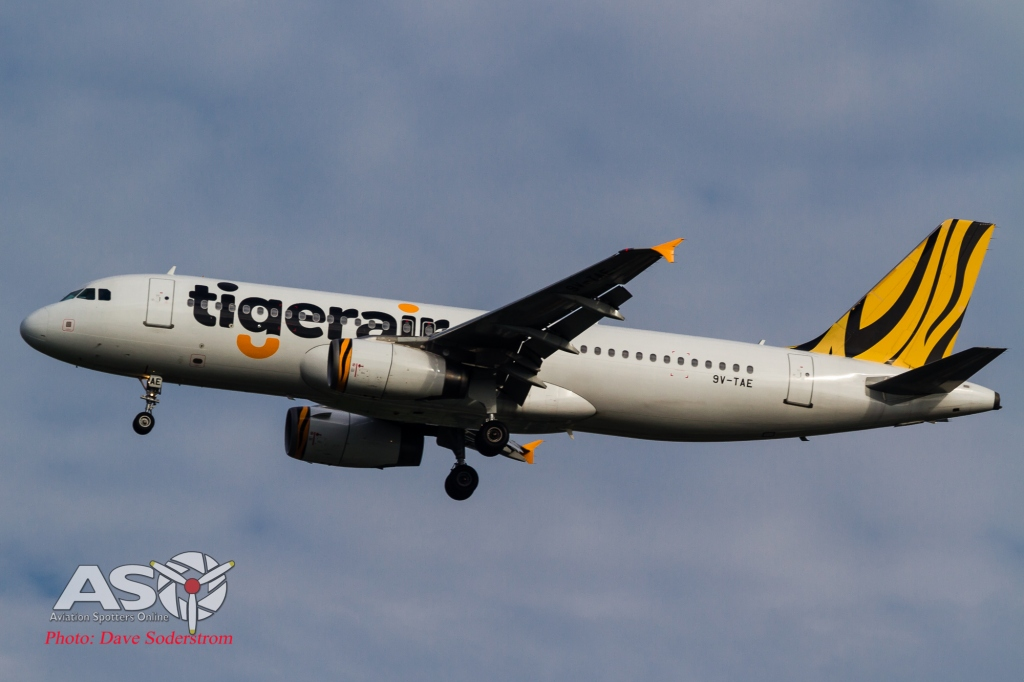 9V-TAE Tigerair Airbus A320 ASO (1 of 1)