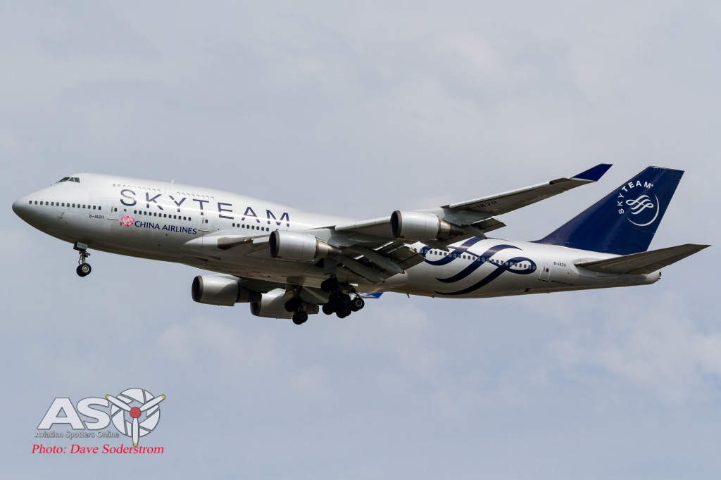 B-18211 China Airlines Boeing 747-400 ASO (1 of 1)